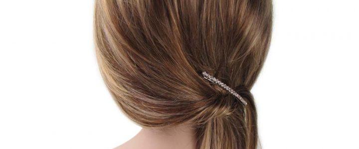 Pince cheveux, pour des coiffures stylées